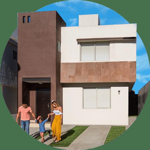Casas en Saltillo, Coahuila. Real Ankara Residencial. Modelo Milán II.